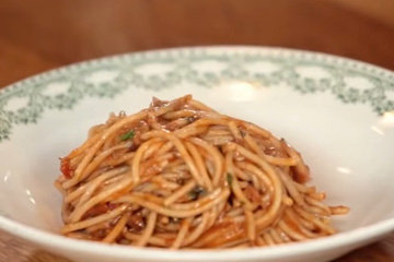 Вегетарианские спагетти болоньезе 6