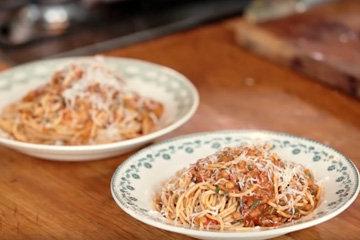 Вегетарианские спагетти болоньезе 7