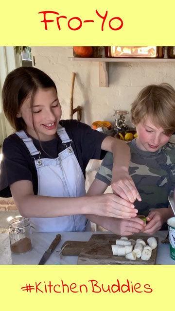 Как сделать домашнее мороженое рецепт Легкий банан