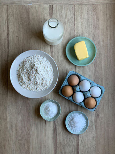 Вафли рецепт на сковородке 1