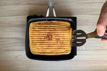 Вафли рецепт на сковородке 11
