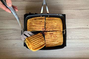 Вафли рецепт на сковородке 12