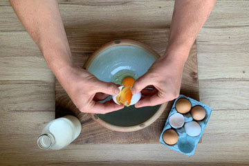 Вафли рецепт на сковородке 4