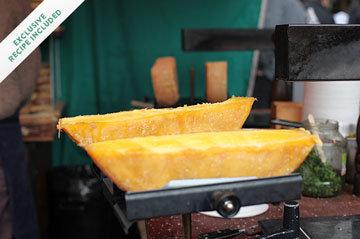 Тост с сыром в духовке