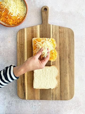 Тост с сыром на сковороде от Джейми 2