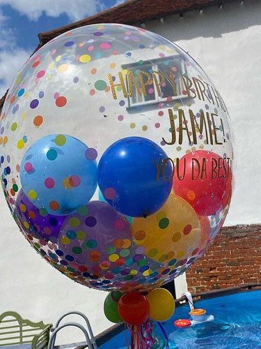гигантский воздушный шар