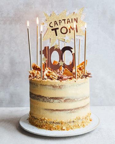кофейно-ореховый торт капитана Тома Мура