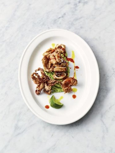 Готовим блюда из морепродуктов - Хрустящий кальмар
