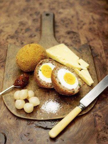 Как приготовить классические яйца вкрутую по-шотландски