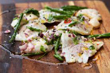 Севиче из рыбы, морепродуктов и морской капусты
