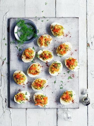 Фаршированные яйца вкрутую