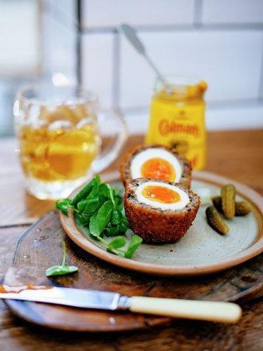 Шотландские яйца всмятку