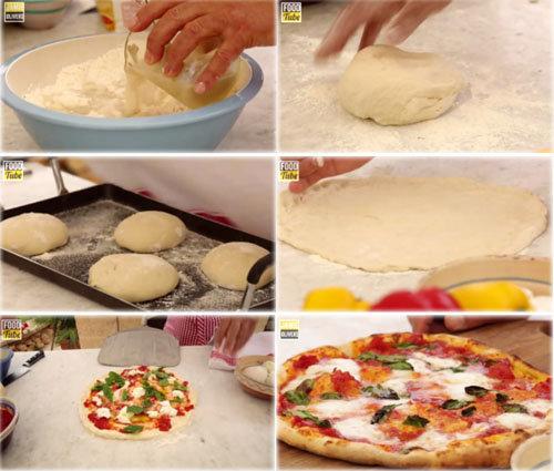Женнаро готовит идеальную итальянскую пиццу