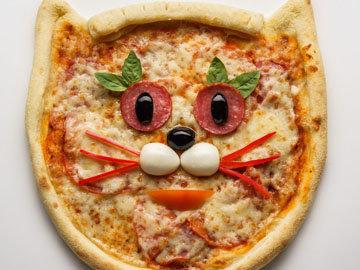 украсить пиццу для детей