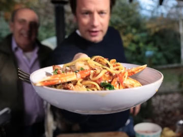 Джейми Оливер. Как приготовить итальянскую пасту 7 разных рецептов