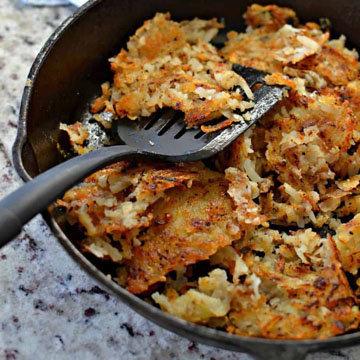 Хашбраун — блюдоамериканской кухни