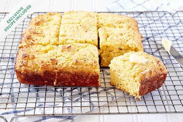 приготовить с детьми Кукурузный хлеб
