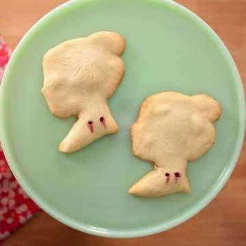 Вкусные рецепты на Хэллоуин печенье Укус вампира