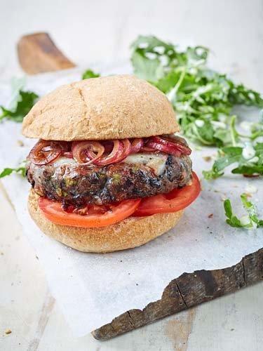 Гамбургер рецепт котлеты из черной фасоли