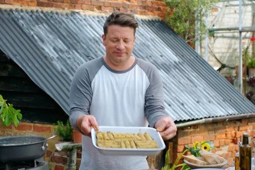 Джейми готовит