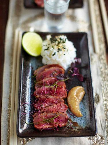 Шикарное карпаччо из говядины в японском стиле