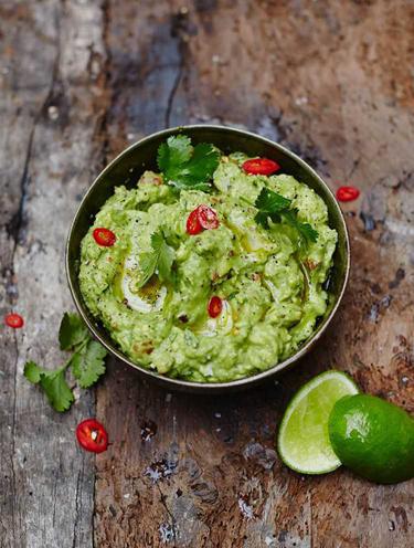Авокадо рецепт гуакамоле