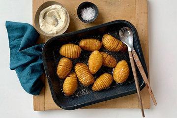 Запеченный картофель, печеный картофель или картофель из духовки