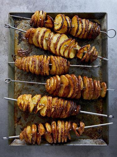 Как приготовить запеченный картофель рецепт Торнадо