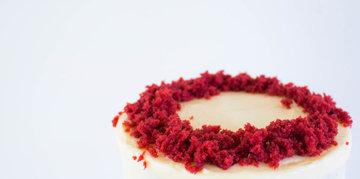 Как приготовить чизкейк Красный бархат с творожным кремом