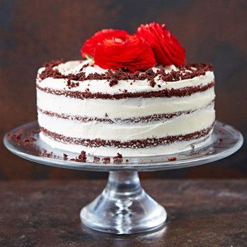Красный бархатный торт