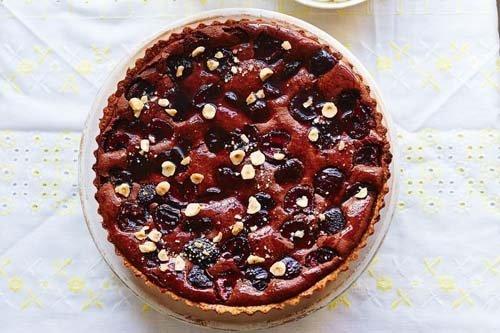 Пирог с вишней Черный лес