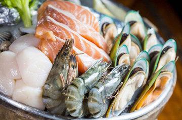 морепродукты на праздничный стол