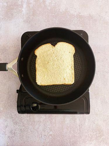 Как приготовить сырный тост на де