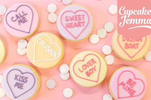 Печенье Валентинки 1