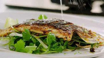 Рыбное блюдо на 8 Марта 1