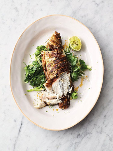 Рыбное блюдо на 8 Марта