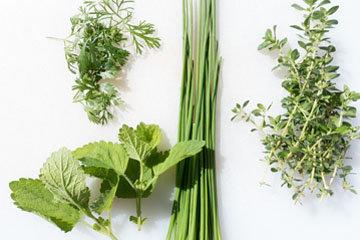 Укутайте зелень и салат