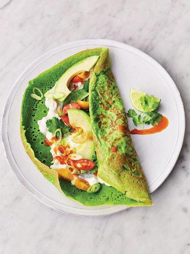 супер оладьи рецепт со шпинатом