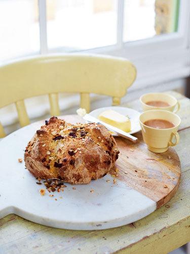 Бездрожжевой хлеб рецепт с шоколадной крошкой
