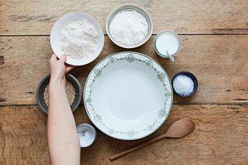 Как приготовить бездрожжевой хлеб 1