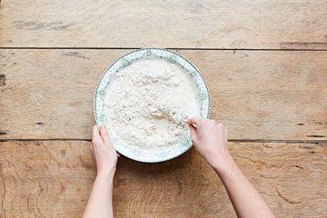Как приготовить бездрожжевой хлеб 4
