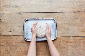 Как приготовить бездрожжевой хлеб 7