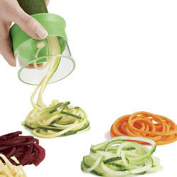 Как сделать овощные спагетти 1
