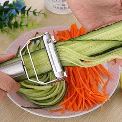Как сделать овощные спагетти 2