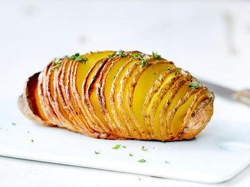 рецепт очень вкусного картофеля, запеченного в духовке 2