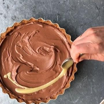 шоколадный чизкейк 12