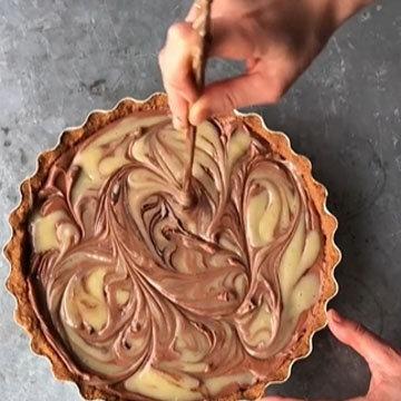 шоколадный чизкейк 13