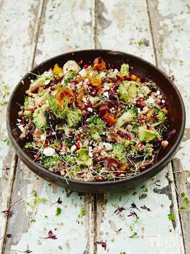 Вкусный салат рецепт из суперпродуктов