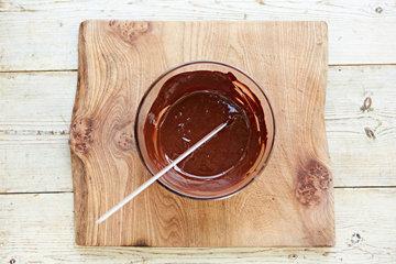 КАК СДЕЛАТЬ шоколадное ЯЙЦО на Пасху 3
