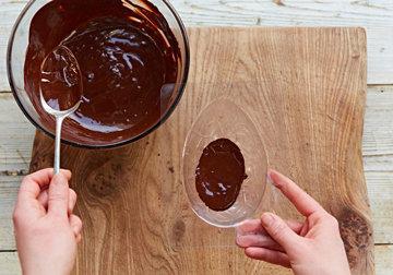 КАК СДЕЛАТЬ шоколадное ЯЙЦО на Пасху 4